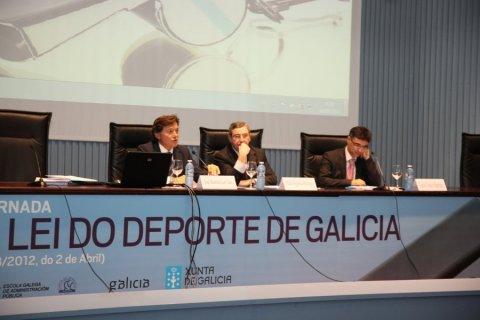 Conferencia inaugural - Xornada sobre a Lei 3/2012, do 2 de abril, do deporte de Galicia
